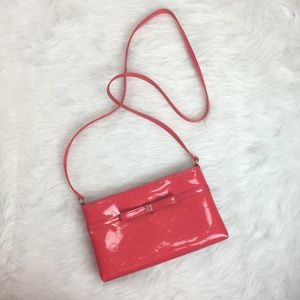 Kate Spade Camellia St. Amy Red Patent Crossbody
